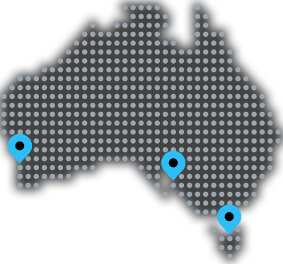 Australia Location Map